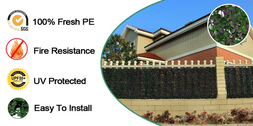 uv-protected-artificial-hedges