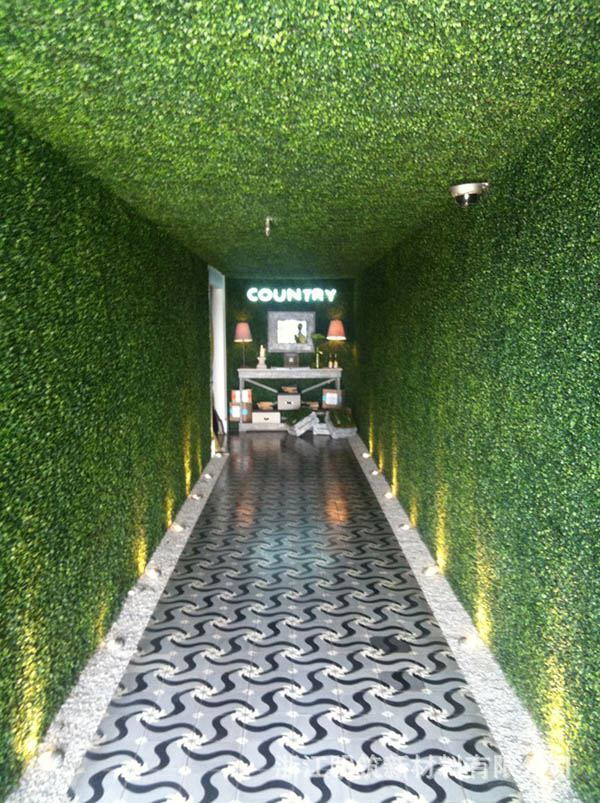 Artificial-plant-hedges-for-green-wall-interior-wall-KTV