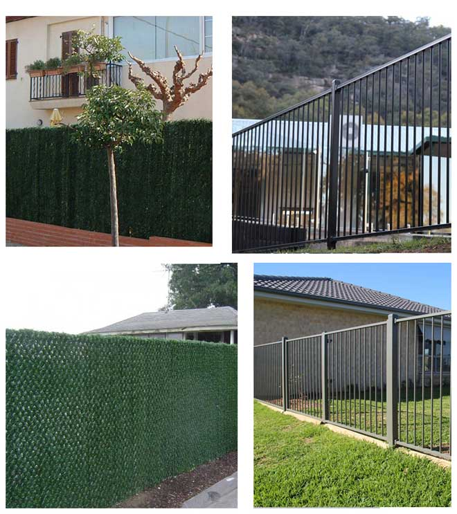 fake-plants-for-garden-fencing