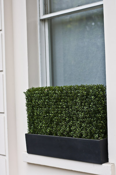 Artificial Boxwood Hedge For Window Box Factory Direct