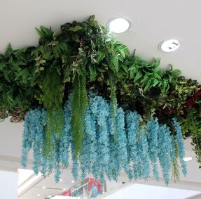Artificial Hedge Plants: Shopping Mall Landscape
