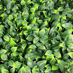 Artificial Landscape Leaves Hedge A040