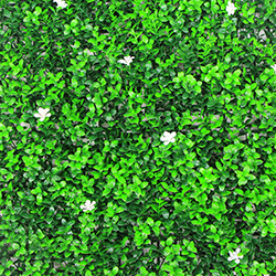 Artificial Landscape Leaves Hedge A043