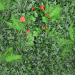 Artificial Landscape Leaves Hedge A049