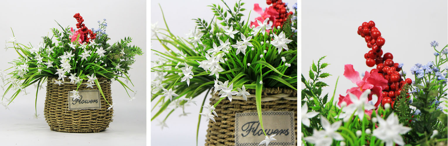 Artificial hanging baskets hanging baskets plants wholesale silk flowers hanging baskets outdoor mightylinksfo
