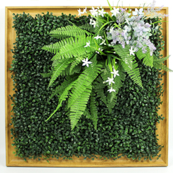 Artificial Plants Frame Wall F004