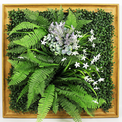 Artificial Plants Frame Wall F006