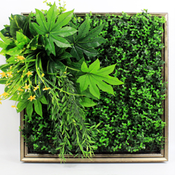 Artificial Plants Frame Wall F007