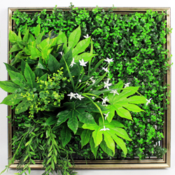 Artificial Plants Frame Wall F008