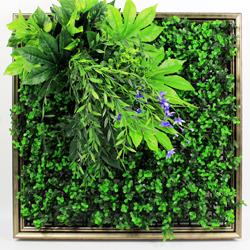 Artificial Plants Frame Wall F009