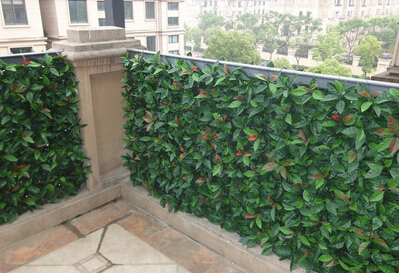 Artificial hedges for plant screen and decor
