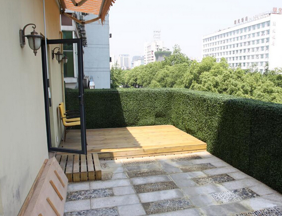 Artificial Hedges For Privacy Protection And Decor In
