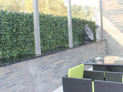 artificial hedges for deck-balcony decor