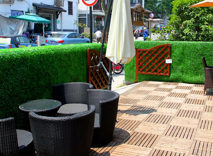 artificial hedges for patio