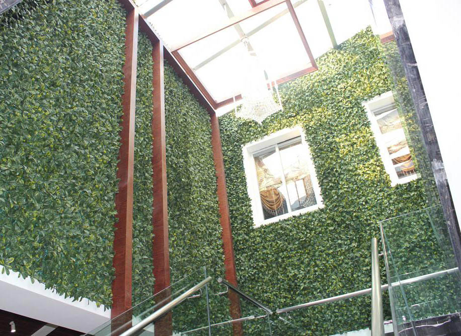 Artificial plant hedges for green wall-exterior wall decor