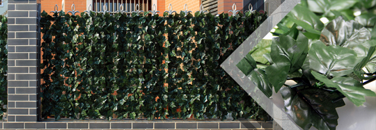 Artificial Leaves Fence for privacy screens