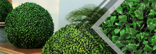 Artificial Ball and Topiary Balls